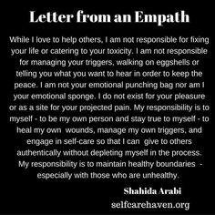 Wow...to so many people in my life....I would rather just retreat and be alone at this point...so often betrayed or left feeling like I don't matter, or I am not good enough, or they have no respect for me.