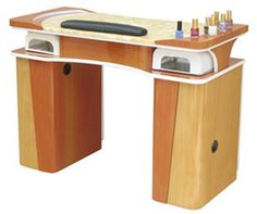 UW Event Manicure Table  $315.00 Home Nail Salon, Nail Salon Design, Salon Interior Design, Manicure Station, Nail Station, Nail Organization, Nail Salon Equipment, Nail Salon Furniture, Tech Room