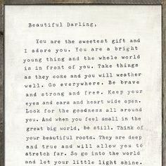 Sugarboo Designs Letter for Sophie Art Print #letterforsophie #sugarboodesigns