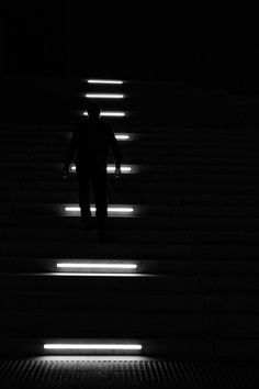 Dark Steps a street photo by Georgie Pauwels on Urban Picnic Street Photography - UPSP Street Photographer Community. Taken in Düsseldorf, Germany.