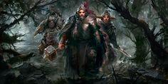Swamp crawlers by PabloFernandezArtwrk on DeviantArt