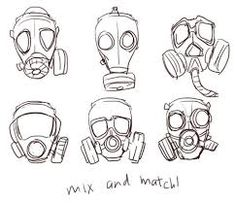 Image result for anime mask drawing