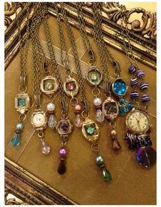 Stone Jewelry, Charm Jewelry, Jewelry Art, Beaded Jewelry, Jewelry Design, Jewelry Ideas, Jewellery Box, Jewelry Bracelets, Pearl Necklaces