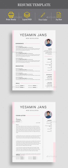 #Resume - Resumes Stationery Download here: https://graphicriver.net/item/resume/19988611?ref=alena994