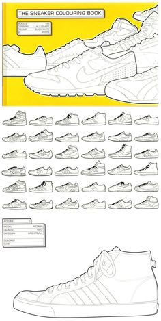 The Sneaker Colouring Book