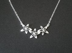 narcissus flower necklace perfect for an ASA!!!