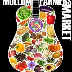 Mullumbimby Farmers Market Early morning to 11.30ish, ATM machine available as everything cash only.We love this farmer's market for it's great community vibe, beautiful natural setting and the range of stalls on offer