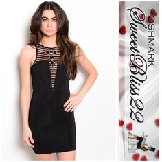 Sexy Black Dress I'm bringing sexy back!This is the only little black dress you will ever need! Available in Small and Medium!! Don't miss out!! Dresses