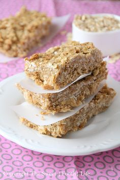 Thick and Chewy Five Cereal Granola Bars