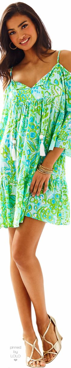 8cb394347b96f4 Lilly Pulitzer Alanna Off The Shoulder Dress | LOLO❤ Floral Fashion,  Fashion Wear