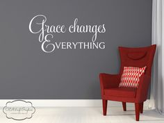 Wall Decal Vinyl Lettering by OZAVinylGraphics