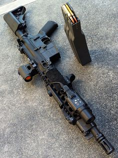 (LMT piston driven SBR with Aimpoint) guns, weapons, self defense, protection… Military Weapons, Weapons Guns, Guns And Ammo, Military Life, Airsoft, Armas Wallpaper, By Any Means Necessary, Fire Powers, Assault Rifle