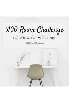 $100 room challenge : week 3 - homework station...only one more week to get this homework station complete...see this week's progress ...homework station, DIY, interior decorating, home styling, home decor ideas