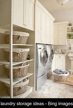 laundry storage ideas - Bing images {974105} #laundry #storage #ideas #laundrystorageideas
