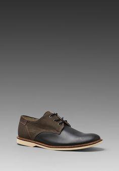 Lacoste Sherbrooke 5 in Black/Dark Brown. $150