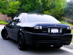 Blacked out Lincoln LS  Cars  Bikes  Pinterest  Lincoln