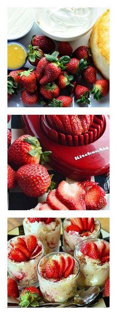 New Food & drink: Strawberry Lemon Cheesecake Parfaits