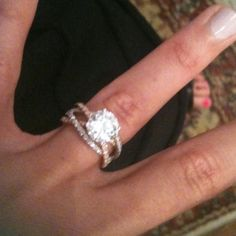 Put a square diamond on that, and YES! love it
