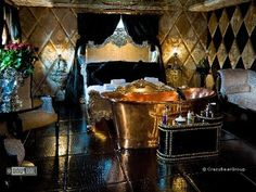 A place to go all Fifty Shades of something....Dramatic designer hotel in Beaconsfield, outside London
