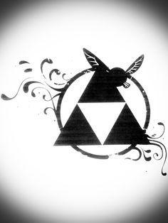 Triforce Tattoo by nemulendil on DeviantArt