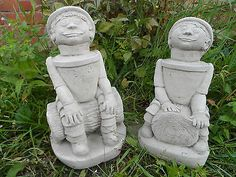 Bill & ben garden statues #ornament latex and #fibreglass #mould/mold character22, View more on the LINK: http://www.zeppy.io/product/gb/2/301060766660/