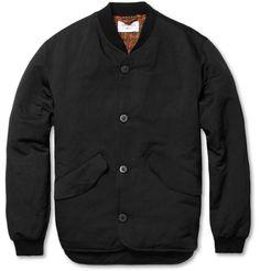 Our LegacyMetal Black Cotton-Blend Bomber Jacket MR PORTER