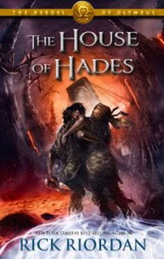 The official cover art for the House Of Hades book 4 now all we gotta do is wait for that book !!!!!!!!