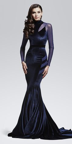 Serenity Velvet Gown