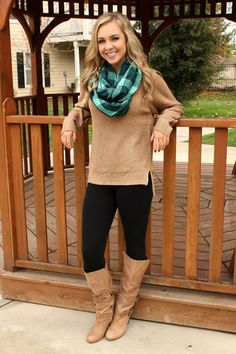 New! Always on My Mind Sweater- Taupe