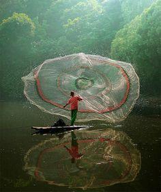 beautiful–my boys love cast nets :)