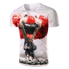 Mens clown tshirt  like my face link for product prices and links. Facebook link is in bio section #clown #clowns #clowntshirt #menswear #mensweardaily #menswears #mensstyle #styled #mensclothing #fashionformen #fashion #funny #discountclothing #ideas