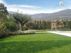 Copyright © www.vivaiodelgarda.it  Una corsa sul prato - Residenza privata in campagna