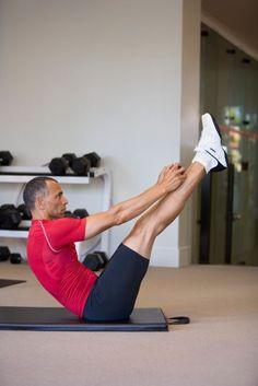 V-Sit Abdominal Exercise