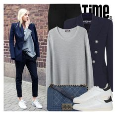 """""""2079. Street Style"""" by chocolatepumma ❤ liked on Polyvore featuring Yves Saint Laurent, Balmain, Organic by John Patrick, Chanel, Isabel Marant, women's clothing, women, female, woman and misses"""