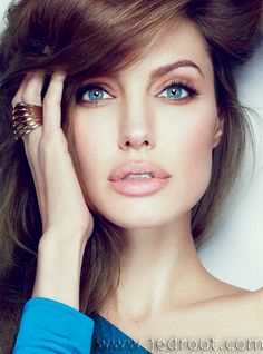 """suicideblonde: """" Angelina Jolie photographed by Alexei Hay for Marie Claire, January 2012 """""""