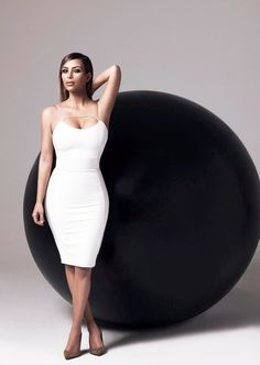 Kim for the Kardashian Kollection Spring 2014 for Lipsy Campaign (2)