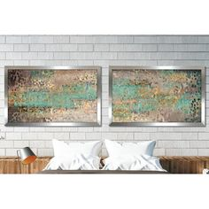 """Ivy Bronx 'Where are You God? Hebrews 4:12' Framed Graphic Art Print Multi-Piece Image Size: 22"""" H x 68"""" W"""