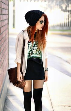 style + red hair