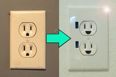 How to update your wall outlets so they have USB plug-ins! :)