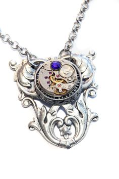 Steampunk Neo Victorian Jewellery  Necklace  by CatherinetteRings
