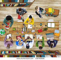 Fotografia stock de Diversity College Student | Shutterstock