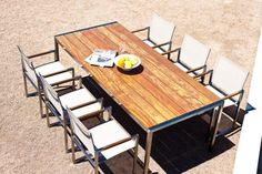 Garden Court Teak Dining Table $1747 3yr warranty  Available Options:  1000W x 1000D x 740H 2000W x 1000D x 740H 2600W x 1000D x 740H