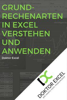 Die Grundrechenarten sind auch in Excel Basis jeder Berechnung, daher ist es nur sinnvoll dich mit Ihnen auseinander zu setzen um … Microsoft Excel, Bar Chart, Map, Words, Business, Computer, Design, Mathematical Analysis, Office Organization Tips