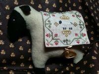 CLOVER SHEEP Needlekeep - Cross Stitch Stuffie Sheep Kit Island Cottage Needlearts