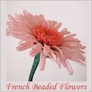 french beaded flowers tutorial - Google'da Ara