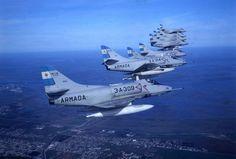 fighter naval A-4 ''Skyhawk'' argentina