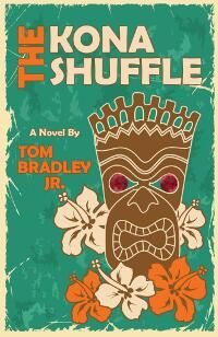 "Tom Bradley Jr. submitted The Kona Shuffle designed by Deborah Bradseth at Tugboat Design. ""Deborah's design conveys all I could ever hope for my novel: a cool vibe, just the right amount of Hawaiiana, a neat font, and eye-catching colors...""  JF: Amen to that, Tom. And so smart of you to hire Deborah, who has produced a real winner that's pitch perfect and typographically solid. Nice job. ★"