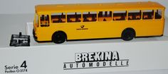 1:87 Brekina Mercedes-Benz MB O 317 K Stadtbus Deutsche Bundespost RAR OVP | eBay
