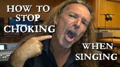 How to Stop Choking When Singing - Ken Tamplin Vocal Academy  Learn More: http://KenTamplinVocalAcademy.com/ Singers Forums: http://forum.kentamplinvocalacademy.com/