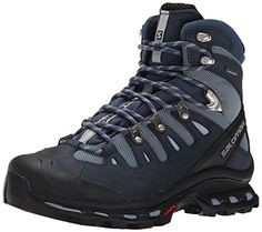 Salomon Women's Quest 4D 2 GTX Hiking Shoe #shoes http://www.theshoespack.com/salomon-womens-quest-4d-2-gtx-hiking-shoe/  Salomon Women's Quest 4D 2 GTX Hiking Shoe The updated Salomon Quest 4D 2 GTX Women retains outstanding stability and grip, with a more ergonomic tongue for improved comfort, laces that stay tied better, and fresh design details. Boasting of a textile and nubuck leather upper, the Salomon Quest 4D 2 GTX Women also features a protective rubber toe and heel cap, he..